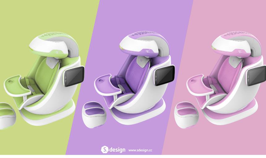 儿童超低频颅磁刺激仪3_产品设计-来设计