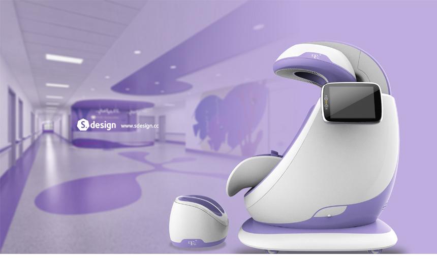 儿童超低频颅磁刺激仪_产品设计-来设计