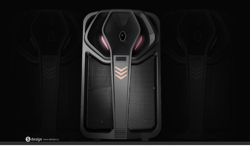 8吋拉杆音响1_产品设计-来设计