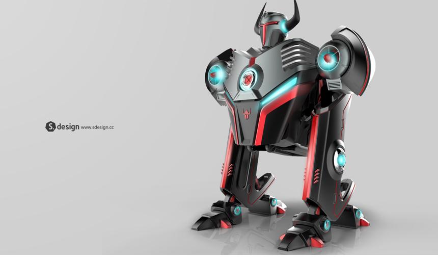 電子競技機器人1_產品設計-來設計