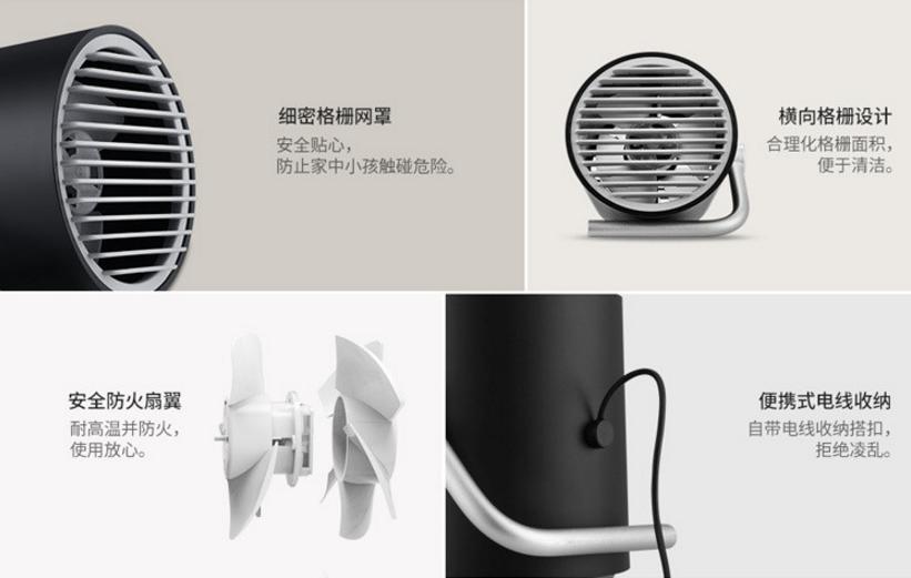 酷炫风迷你静音桌面小风扇3_产品设计-来设计