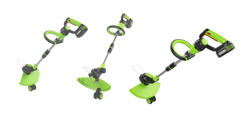 园林打草机1_产品设计-来设计