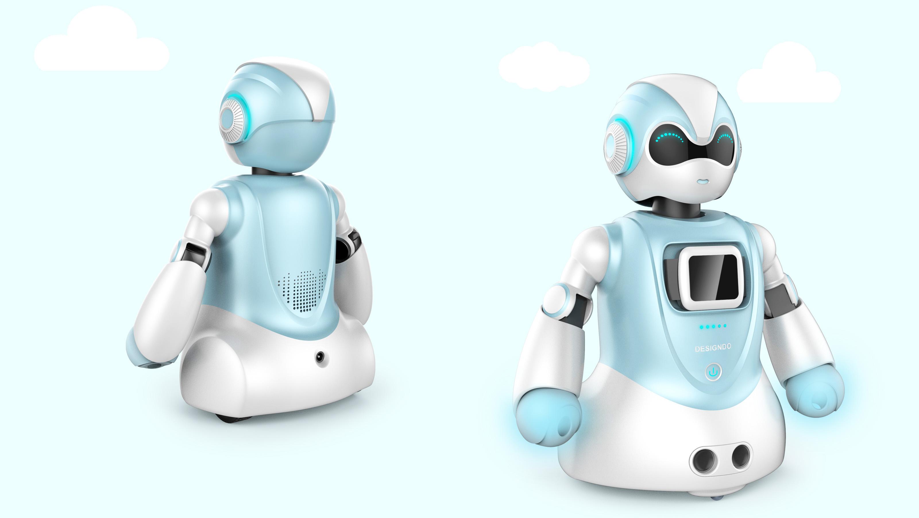 智能机器人_产品设计-来设计