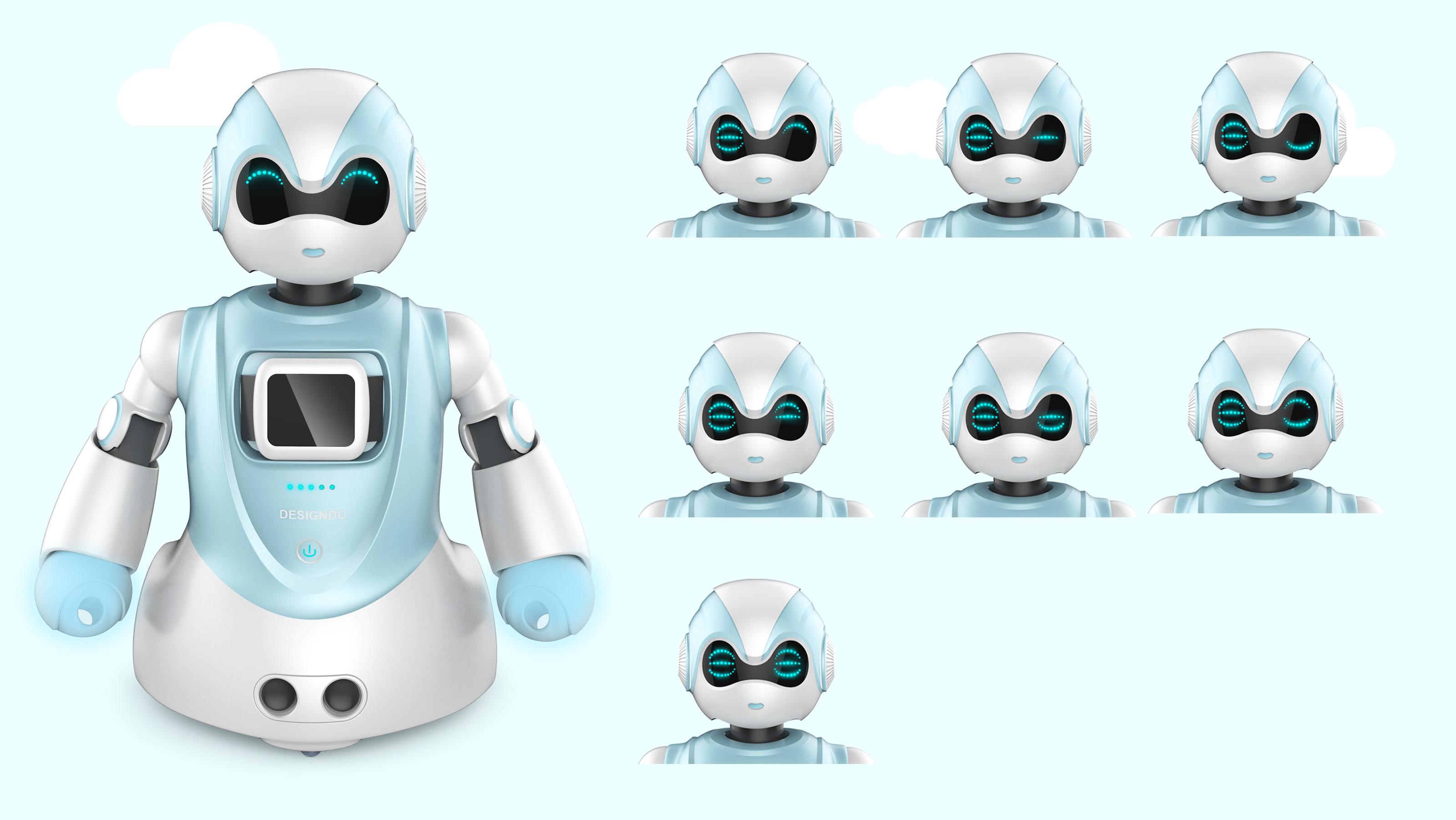 智能机器人2_产品设计-来设计