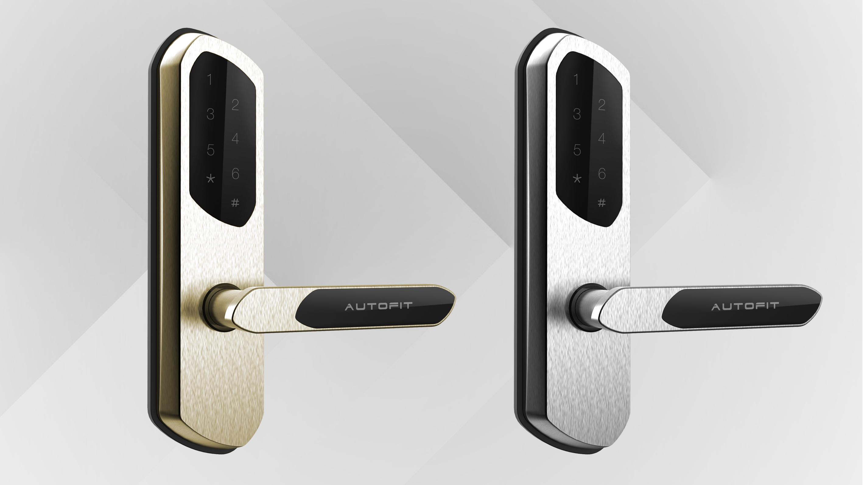 房车智能门锁4_产品设计-来设计