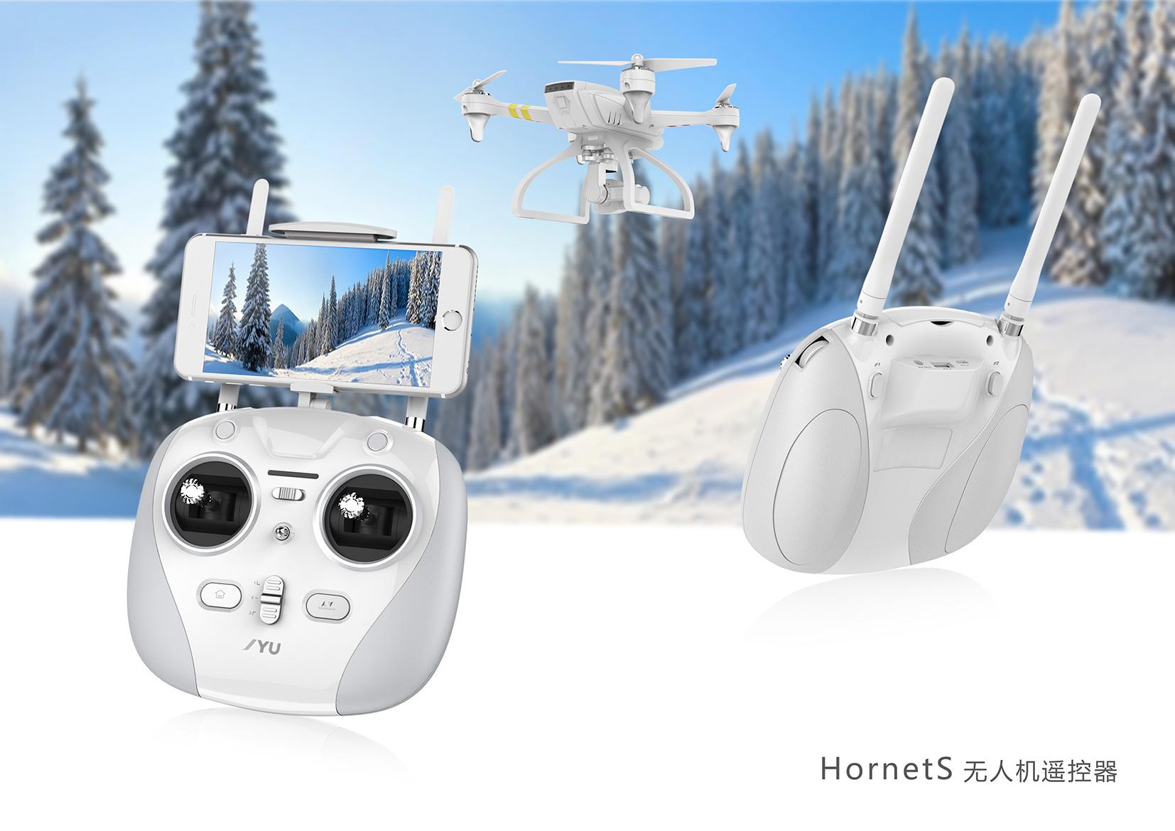 无人机遥控器_产品设计-来设计
