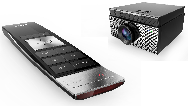投影仪遥控器_产品设计-来设计