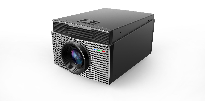 激光投影仪2_产品设计-来设计