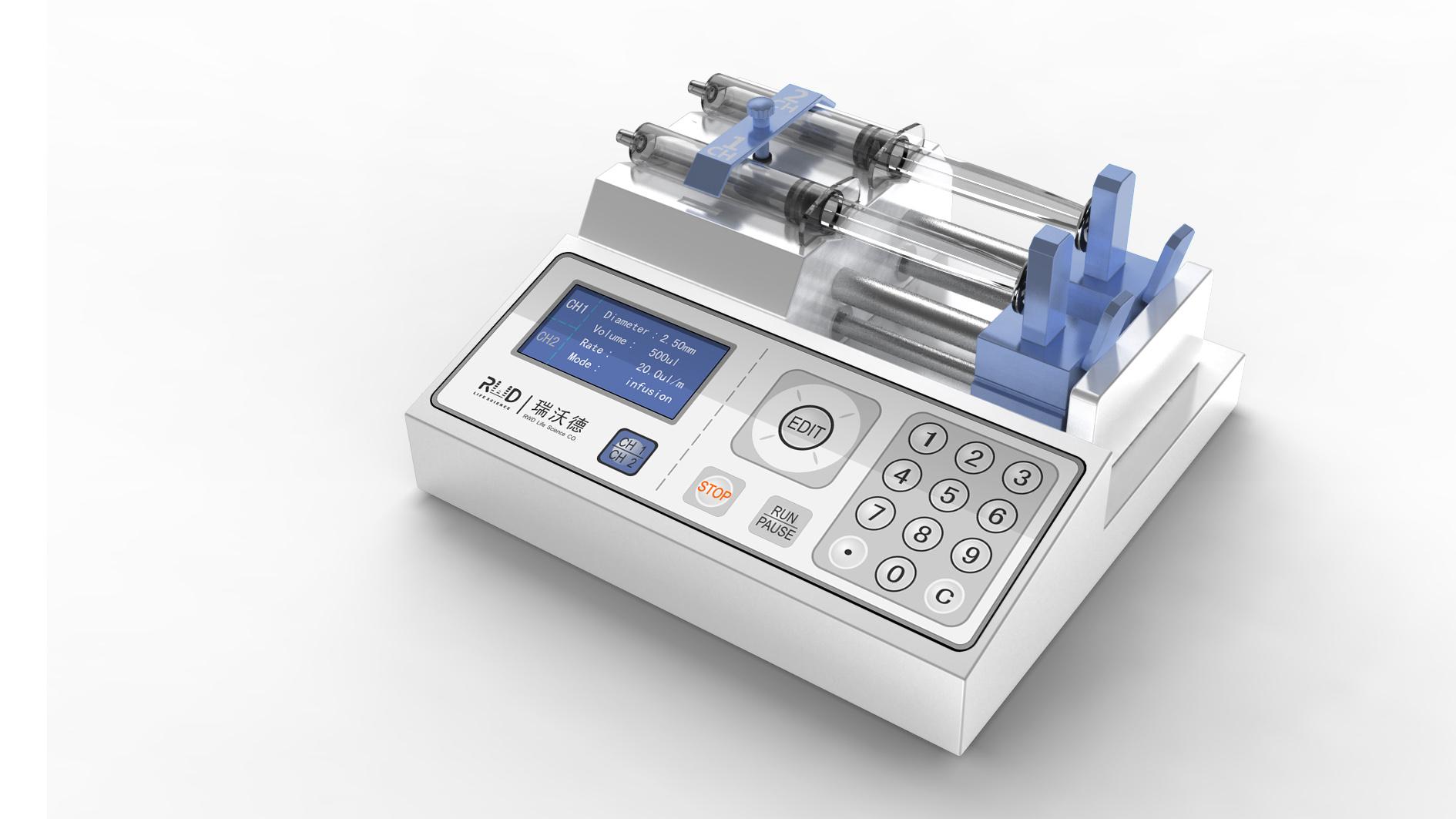 微量注射器_产品设计-来设计