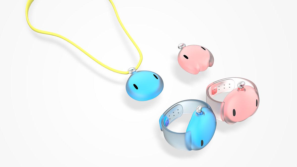 儿童智能手环8_产品设计-来设计