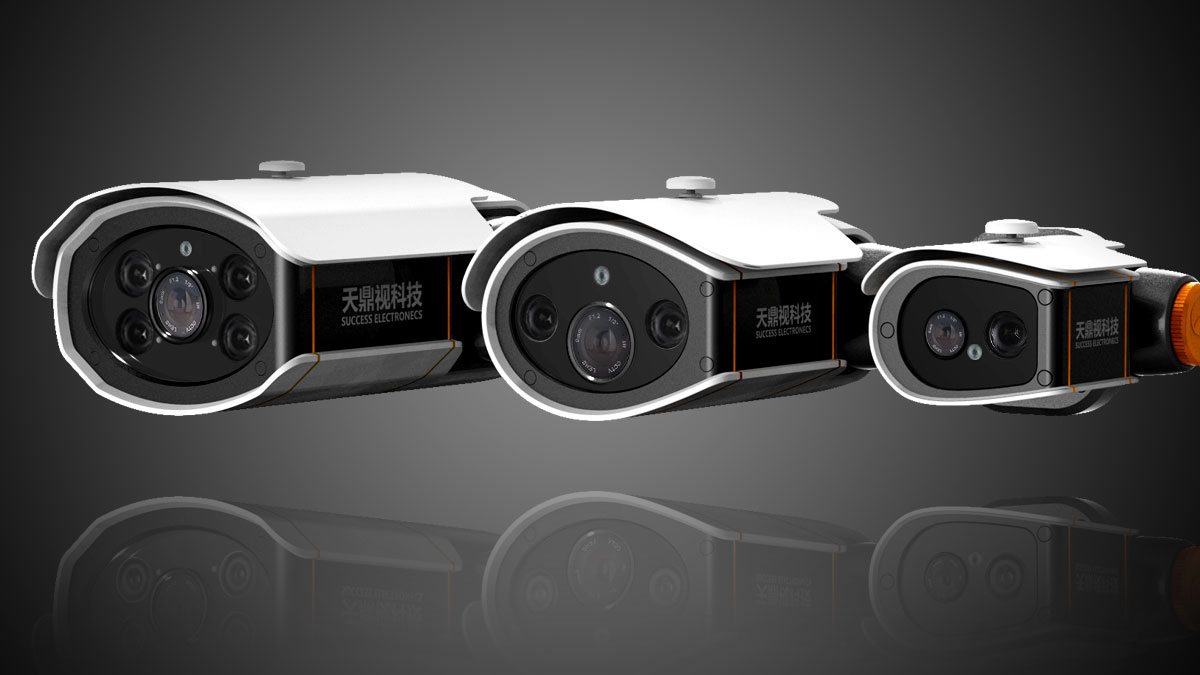 监控摄像机3_产品设计-来设计