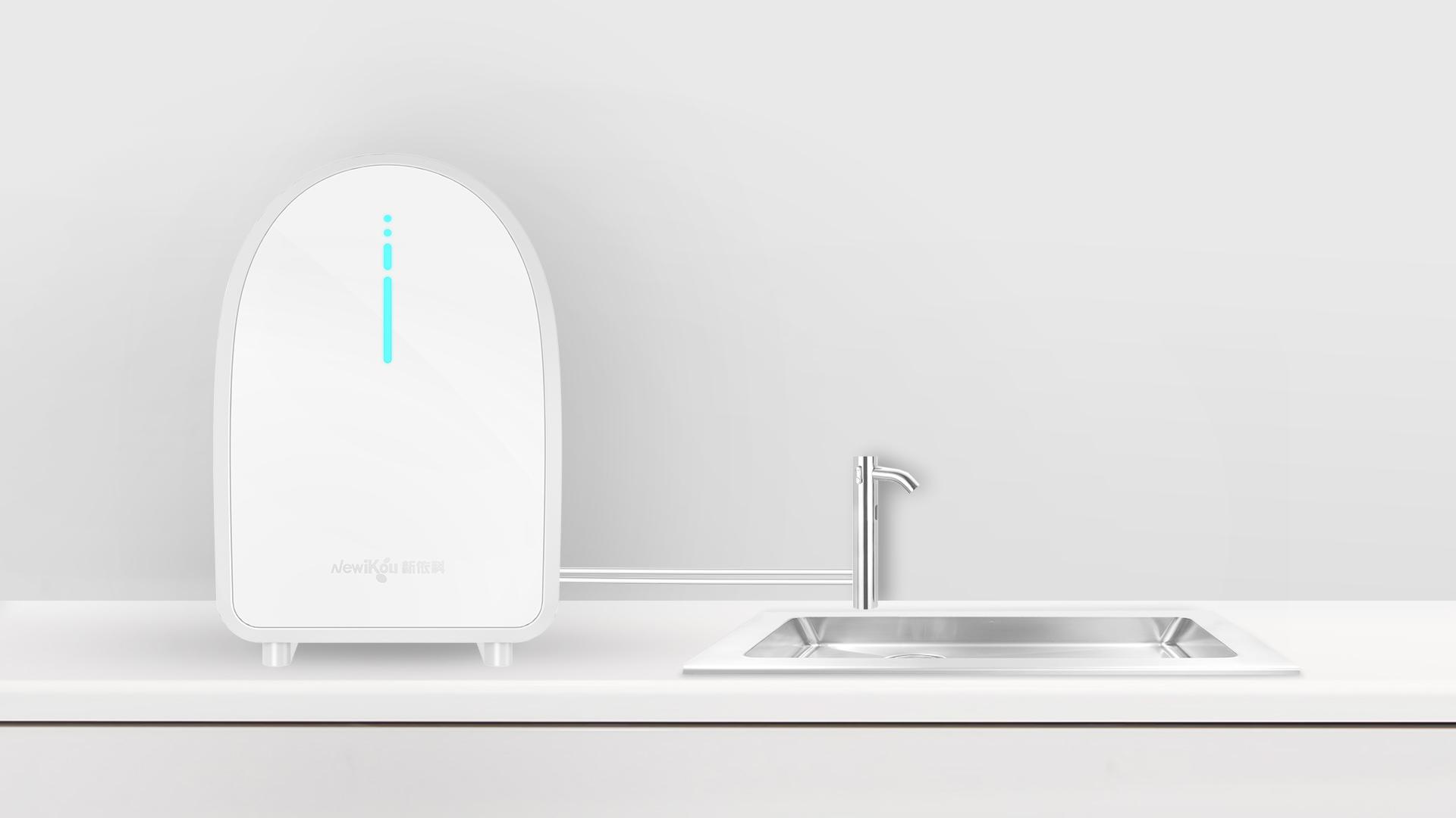蓝氧水机_产品设计-来设计