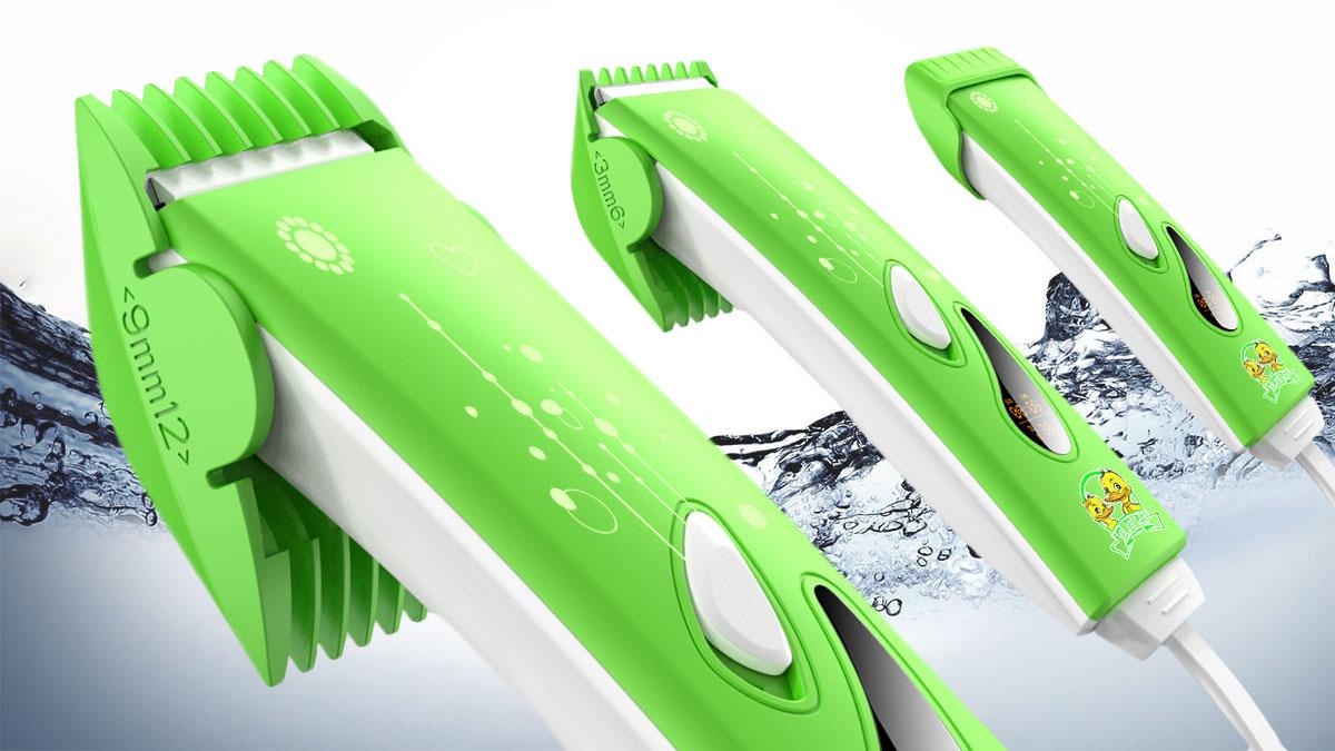 儿童理发器3_产品设计-来设计