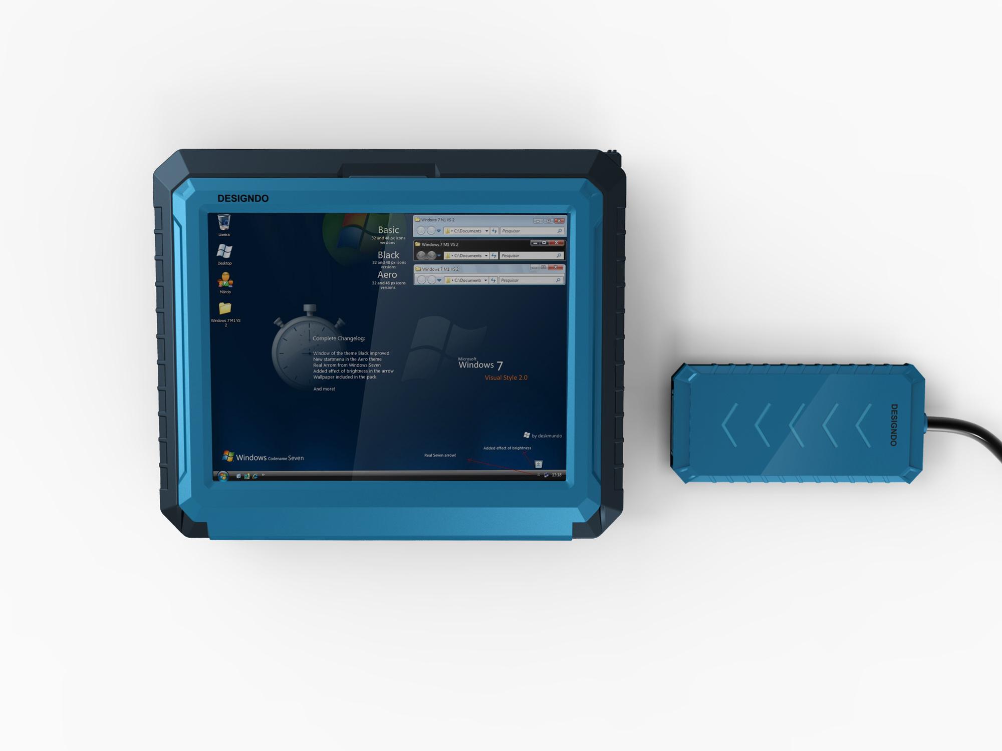 温度检测仪2_产品设计-来设计
