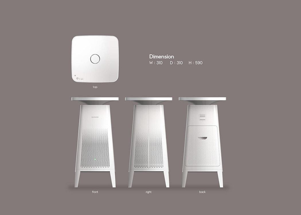 Cozy空气净化器5_产品设计-来设计
