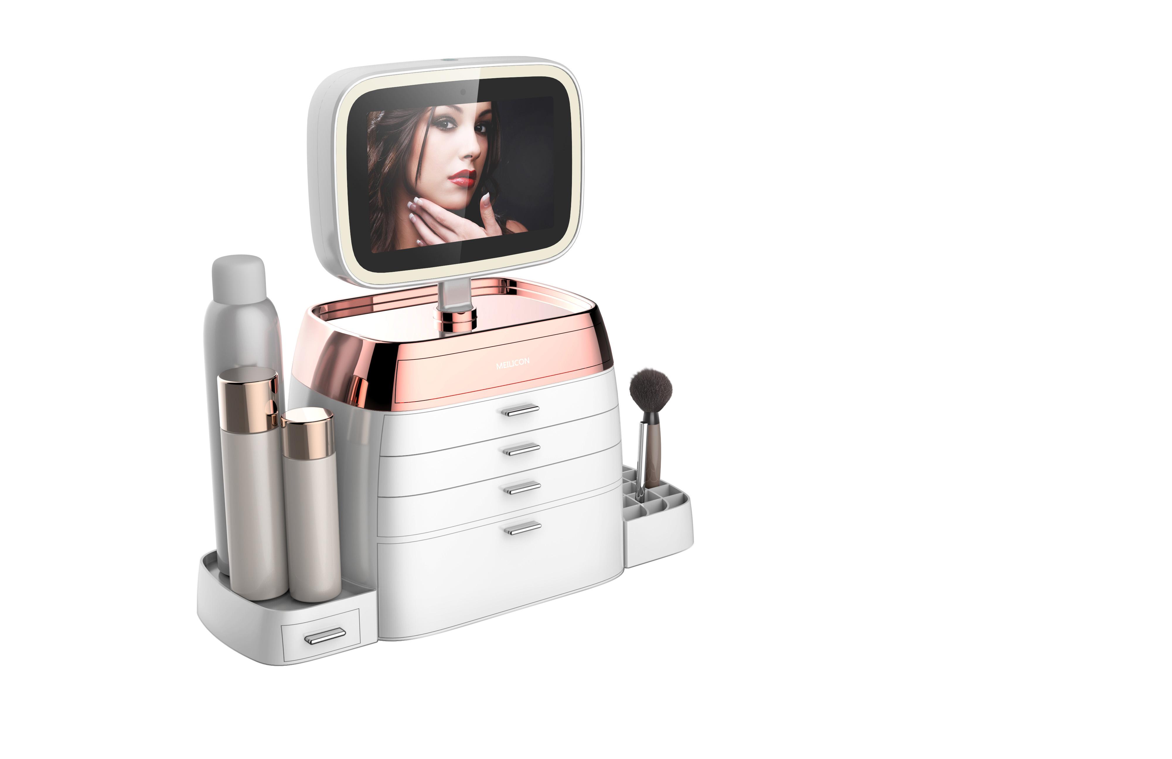 智能化妆盒_产品设计-来设计