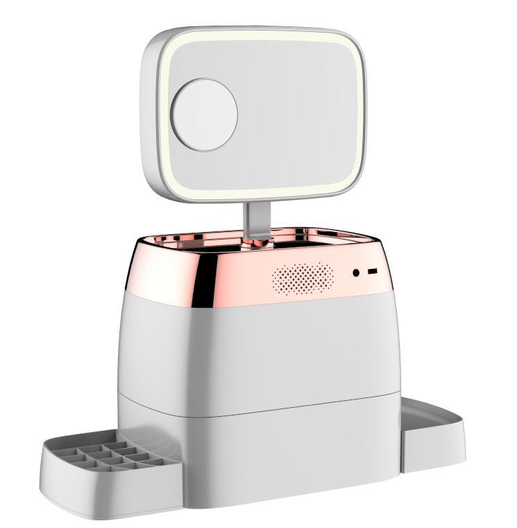 智能化妆盒4_产品设计-来设计