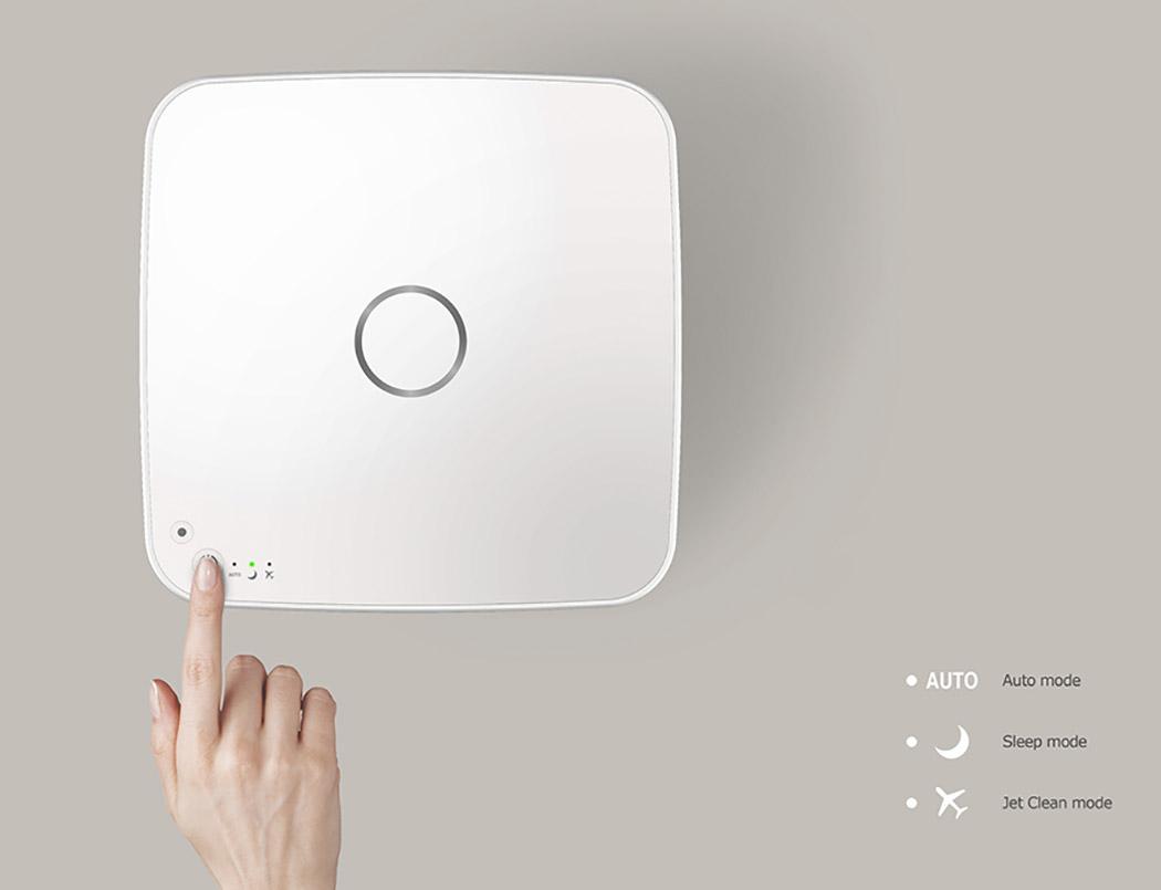 Cozy空气净化器4_产品设计-来设计