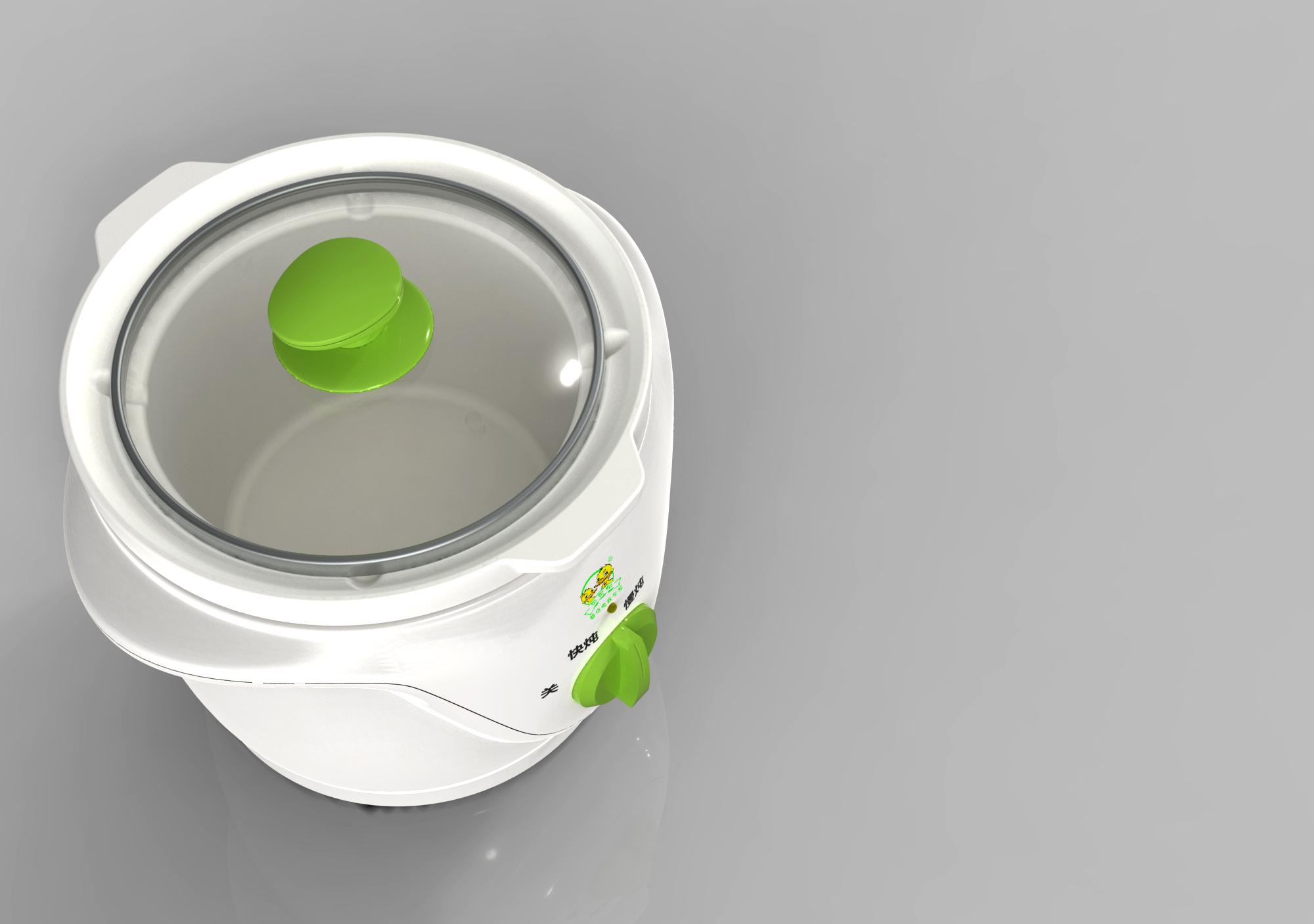 儿童煲粥锅2_产品设计-来设计