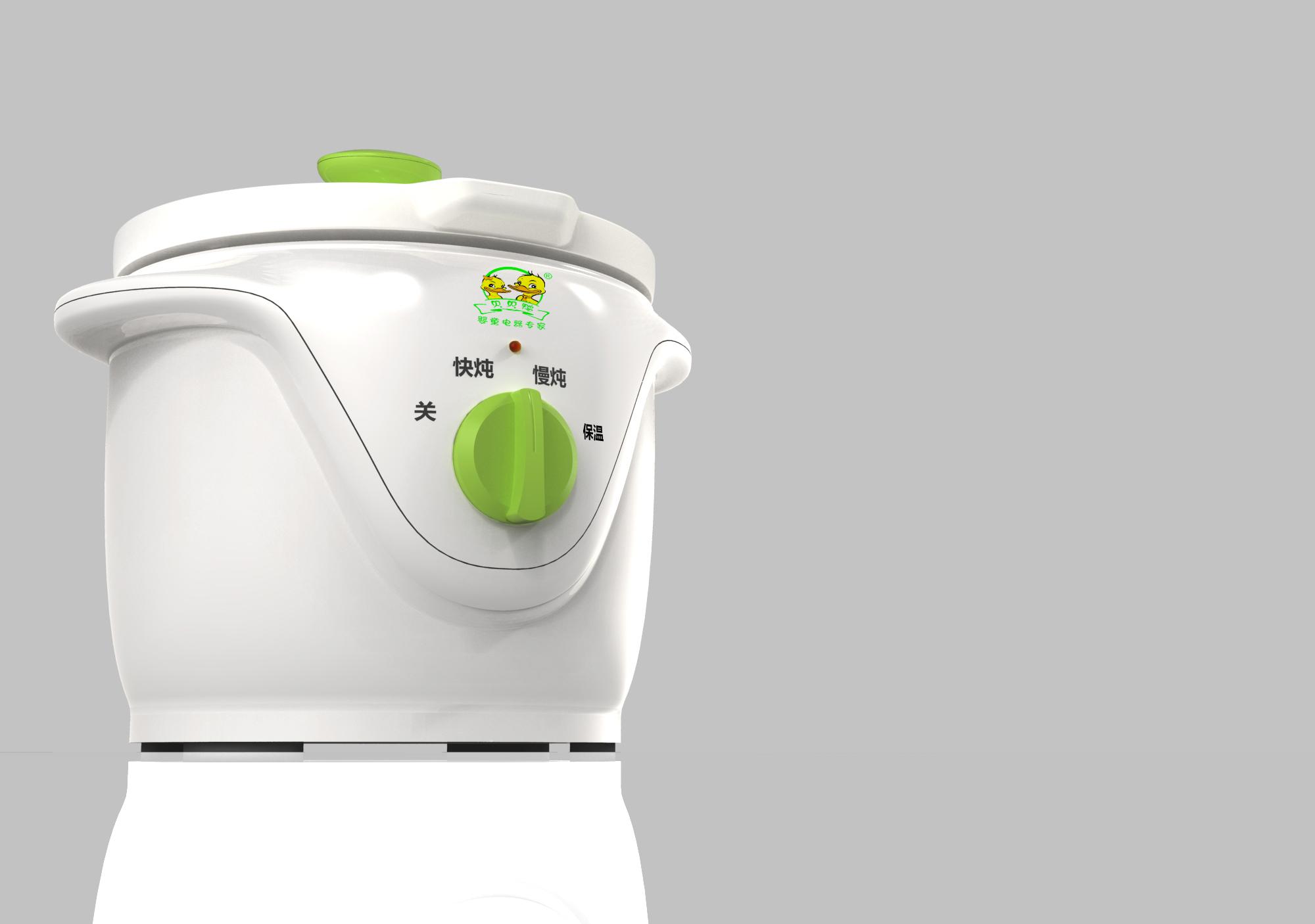 儿童煲粥锅_产品设计-来设计