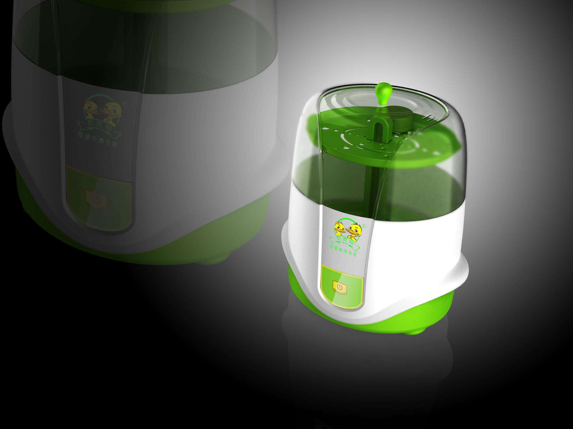 蒸汽奶瓶消毒器_产品设计-来设计