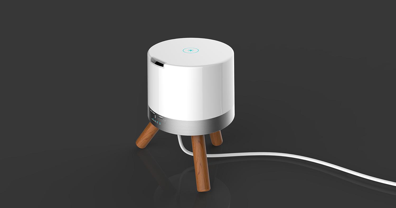 智能加湿器+床头2灯_产品设计-来设计