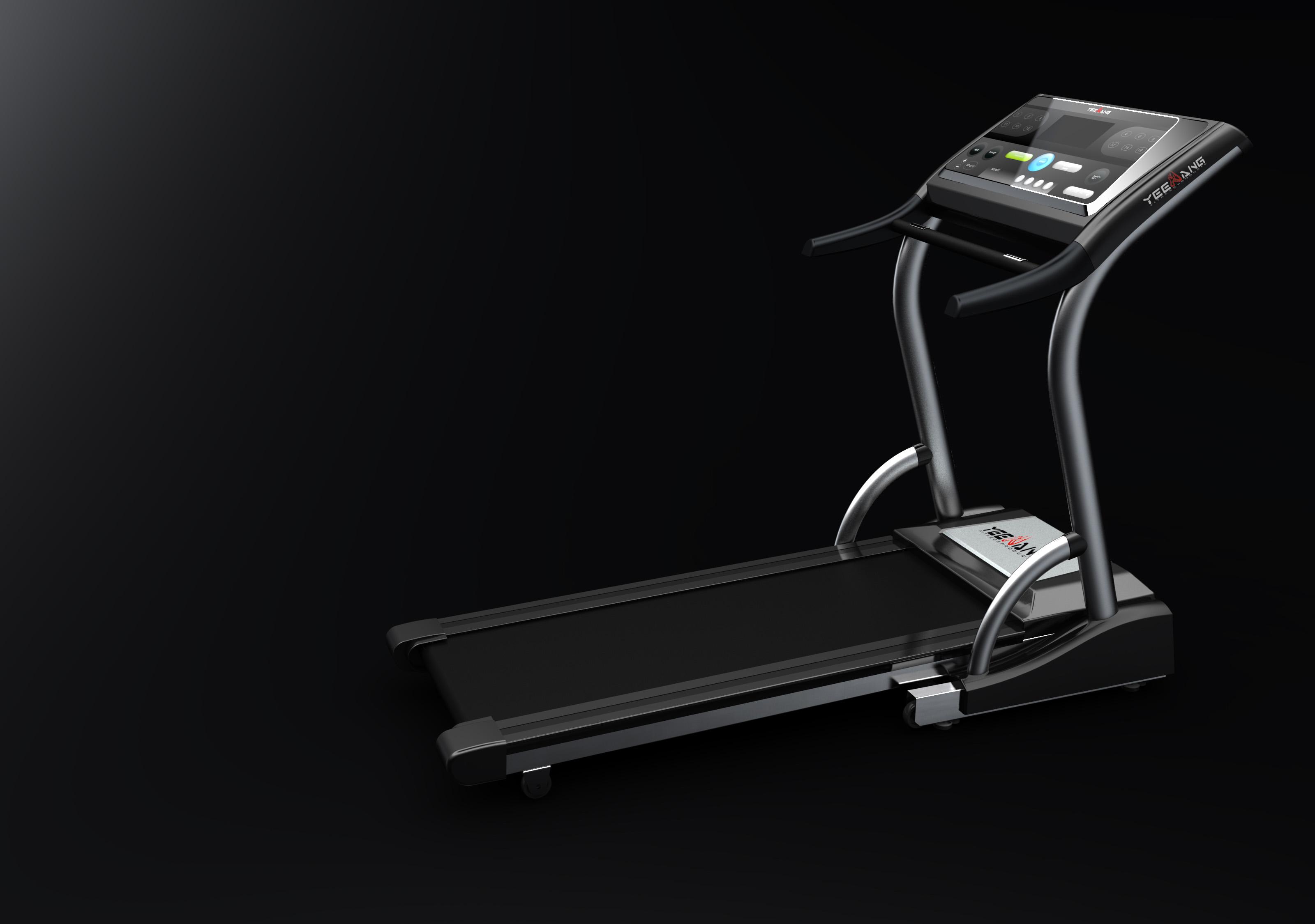 跑步机2_产品设计-来设计
