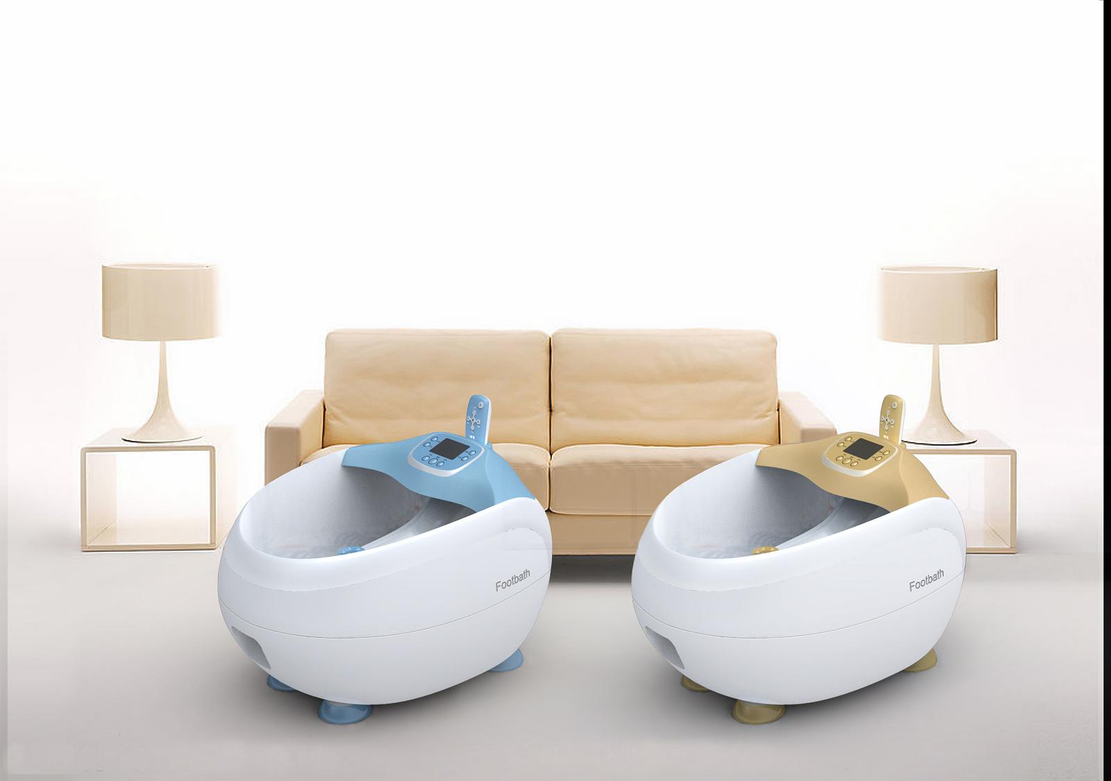 数码足浴盆_产品设计-来设计