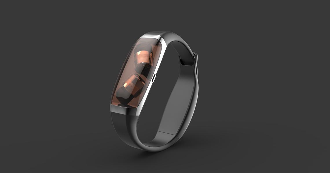 智能手環藍牙耳機_產品設計-來設計