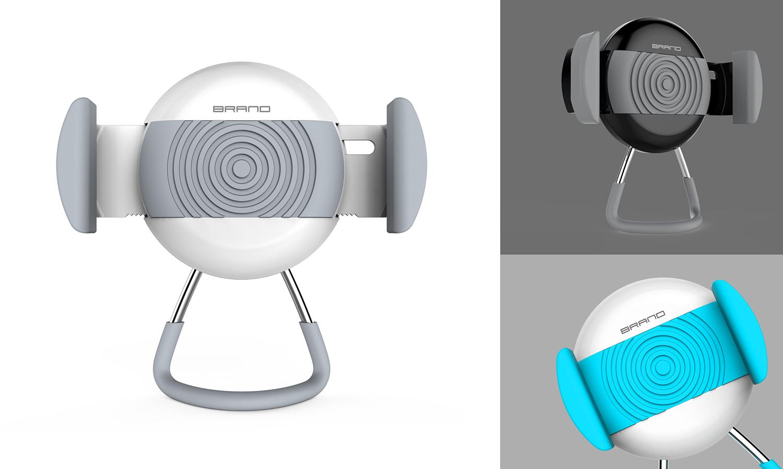 車載手機架2_產品設計-來設計