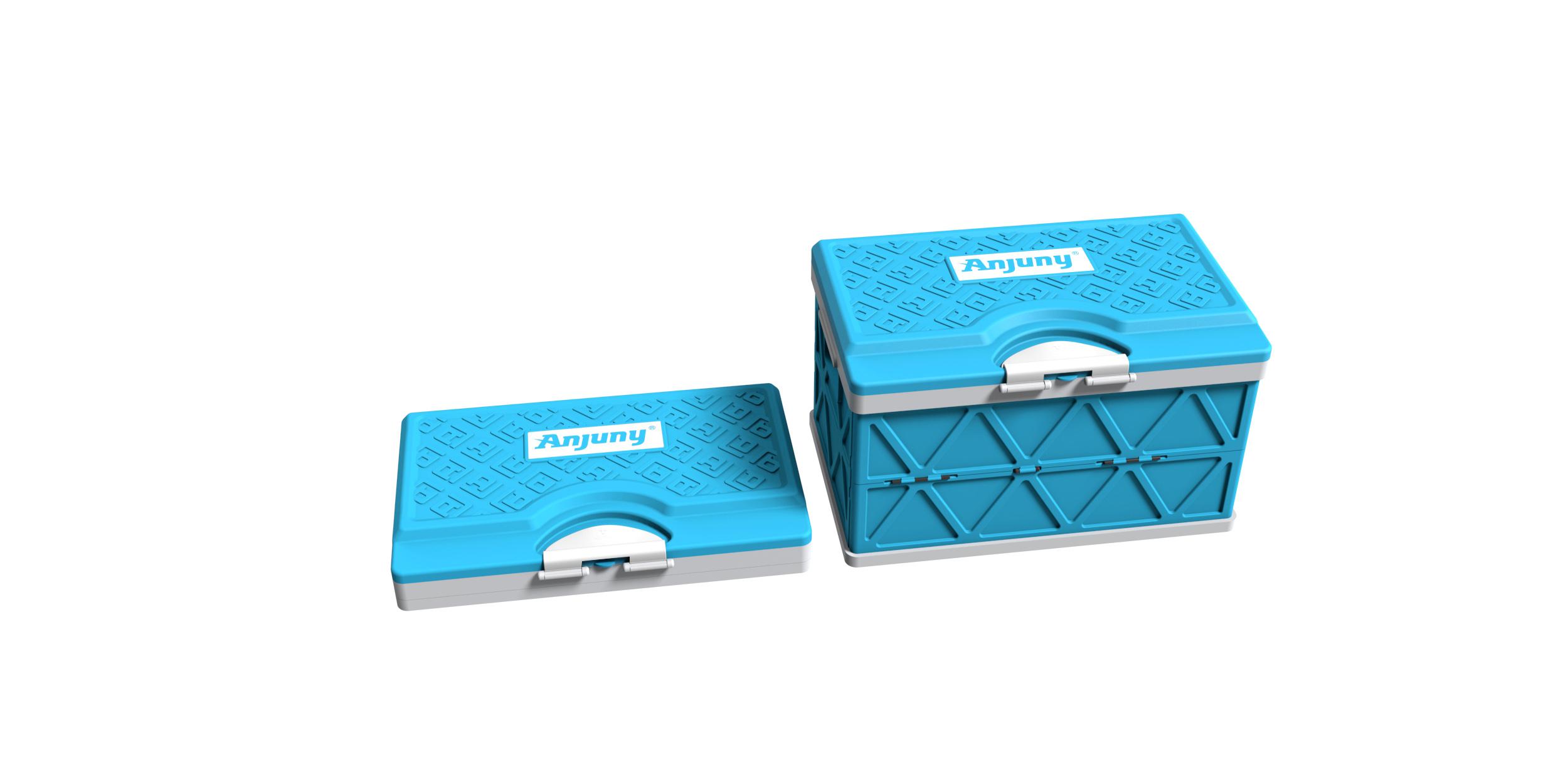 折叠汽车储物箱3_产品设计-来设计