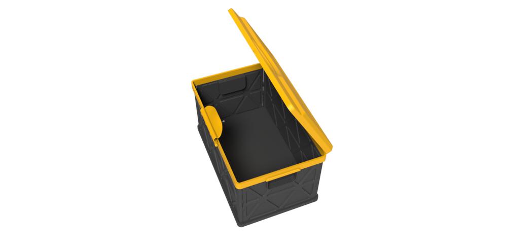 折叠汽车储物箱2_产品设计-来设计