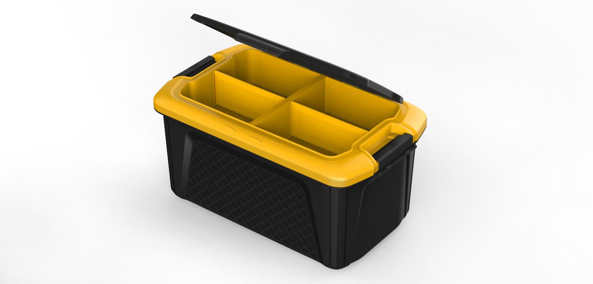 汽车收纳箱3_产品设计-来设计