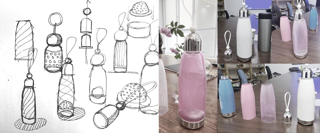 物生物LIFE+時尚水杯_產品設計-來設計