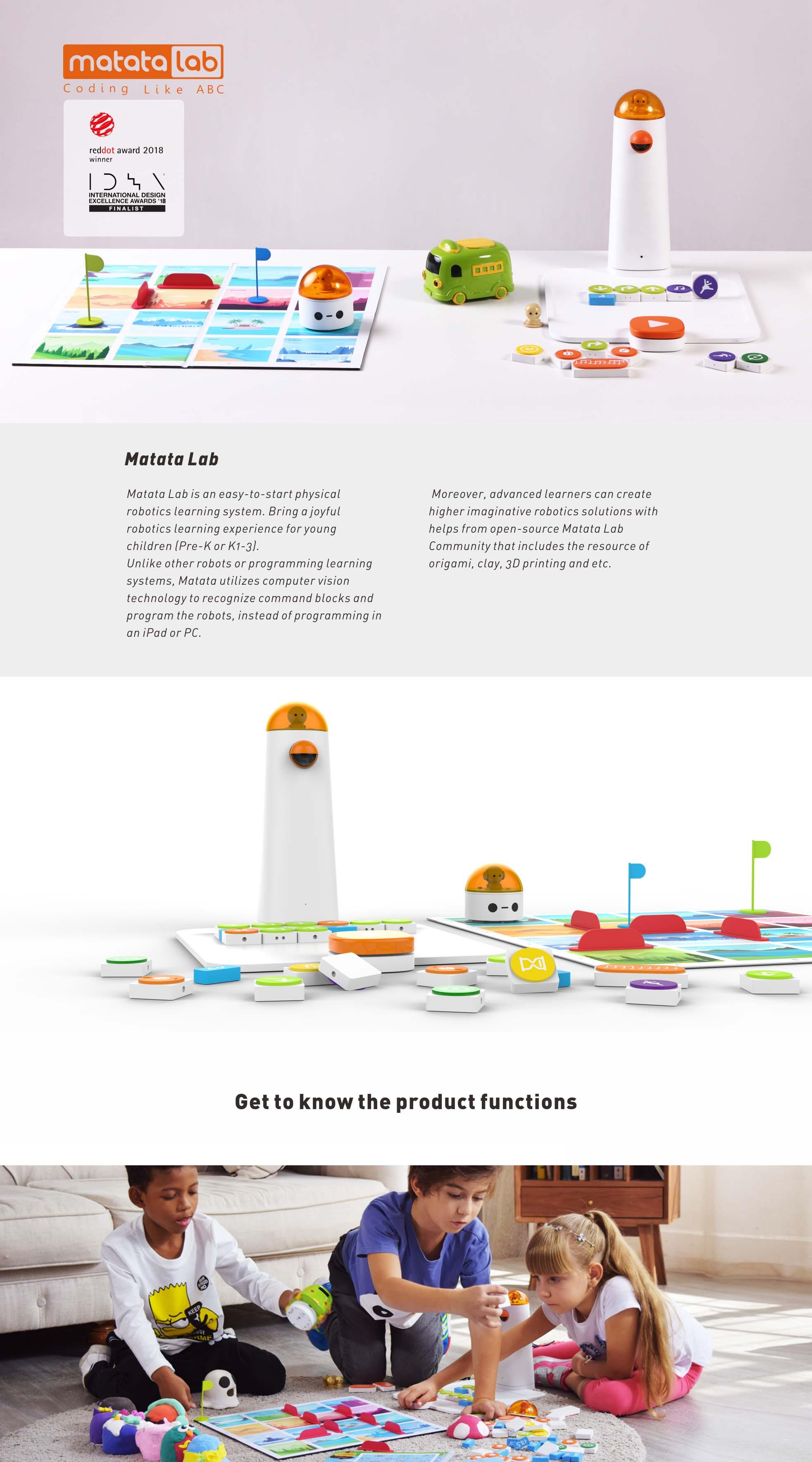 MATATALAB 儿童教育编程玩具_产品设计-来设计