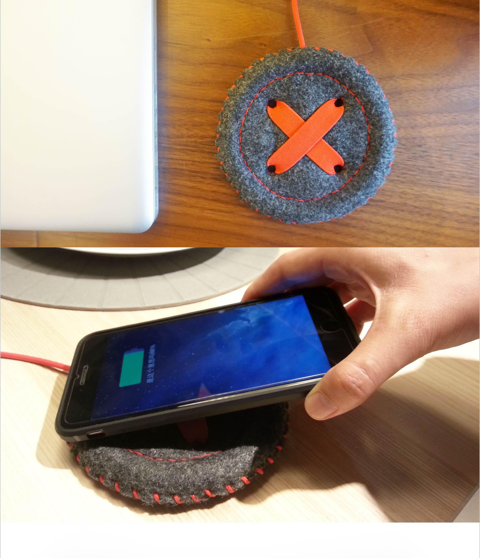 温暖的无线充电器2_产品设计-来设计