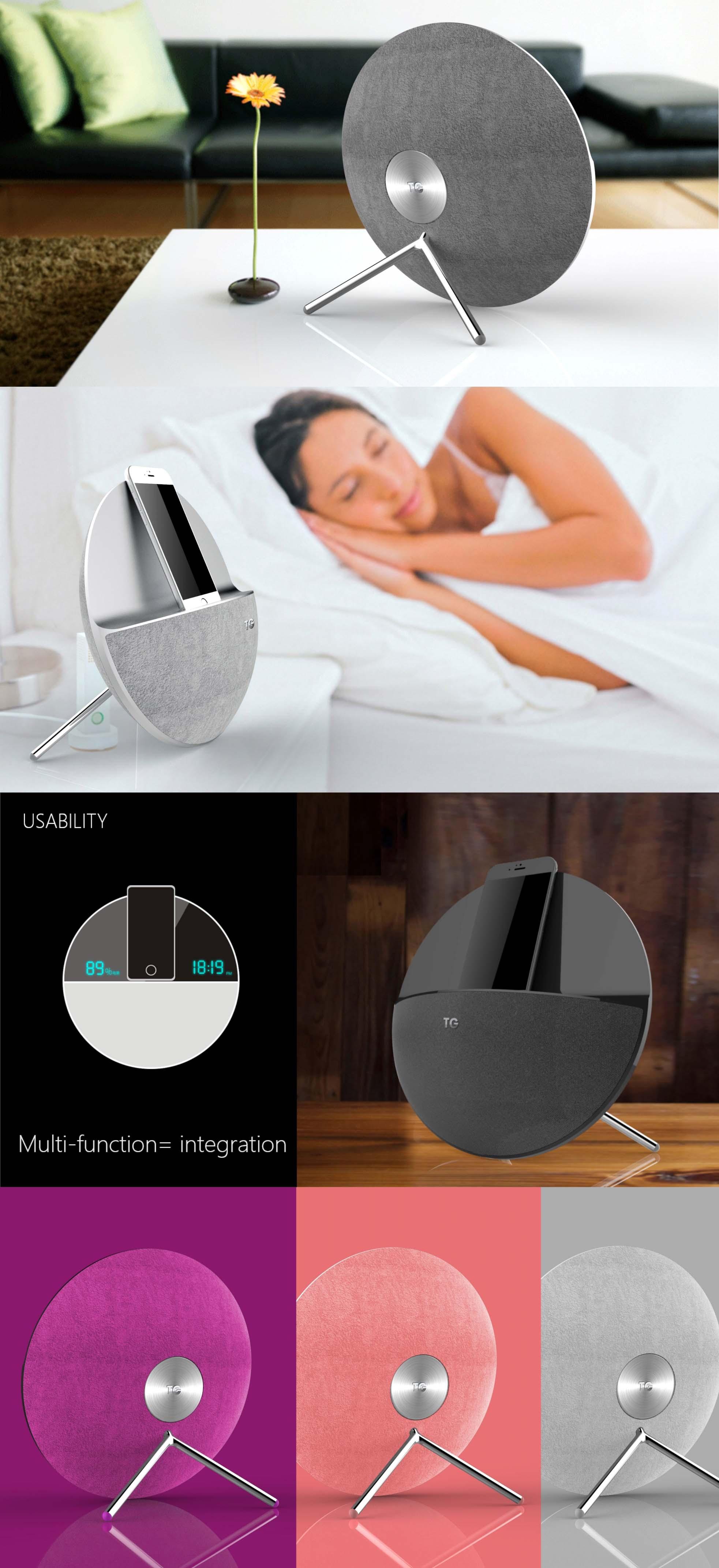 家居音箱2_产品设计-来设计