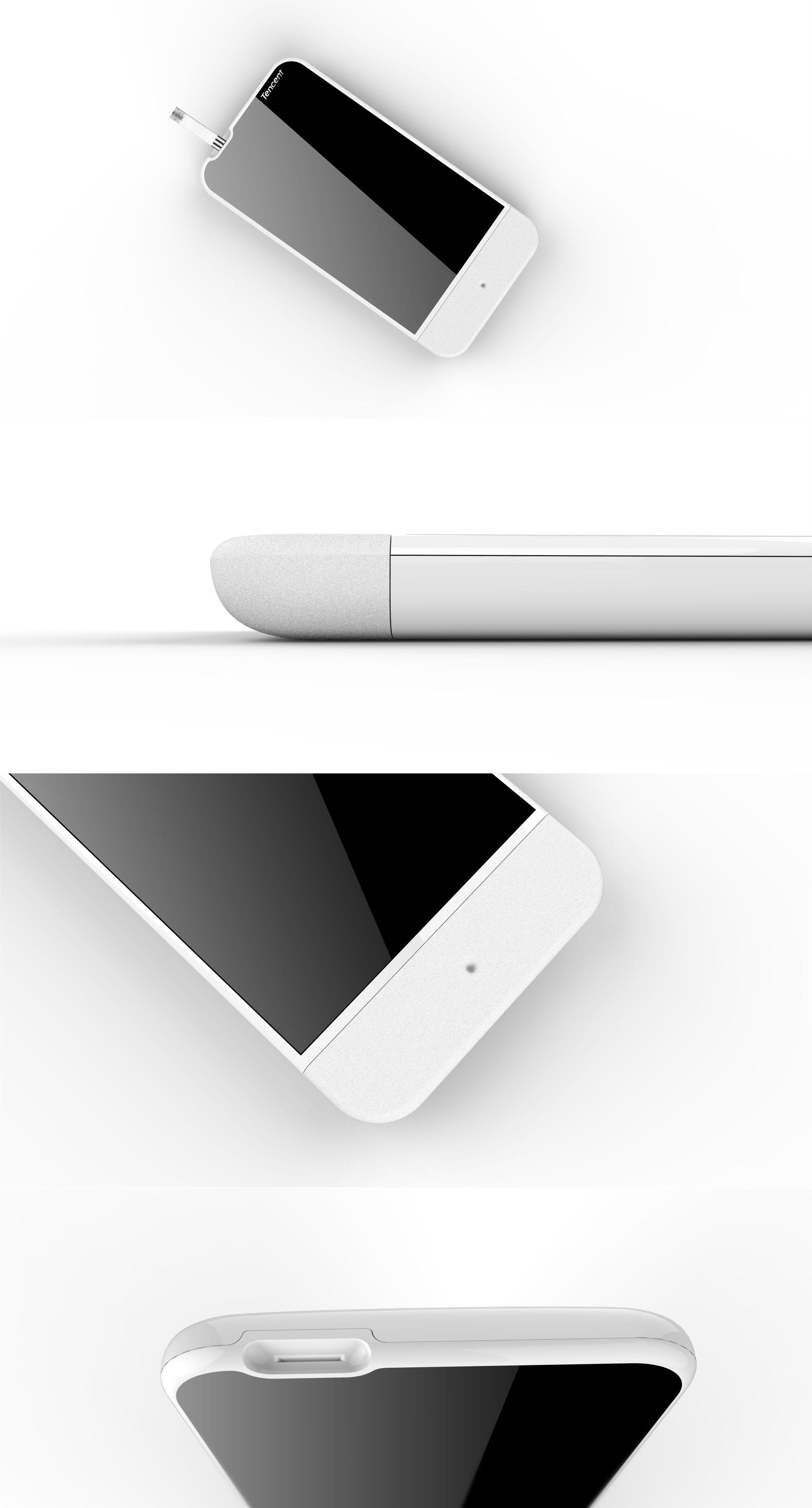 腾讯血糖仪2_产品设计-来设计