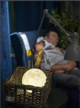 月球灯_产品外观设计-来设计