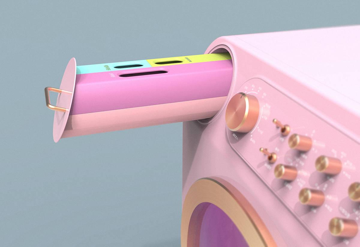 洗衣机设计